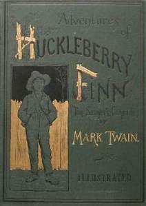 Original cover of Huckleberry Finn