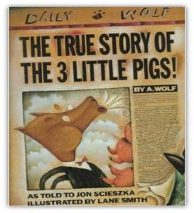 "Cover of ""The True Story of the 3 Little Pigs!"""