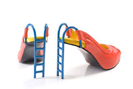 shoes with ladder heels
